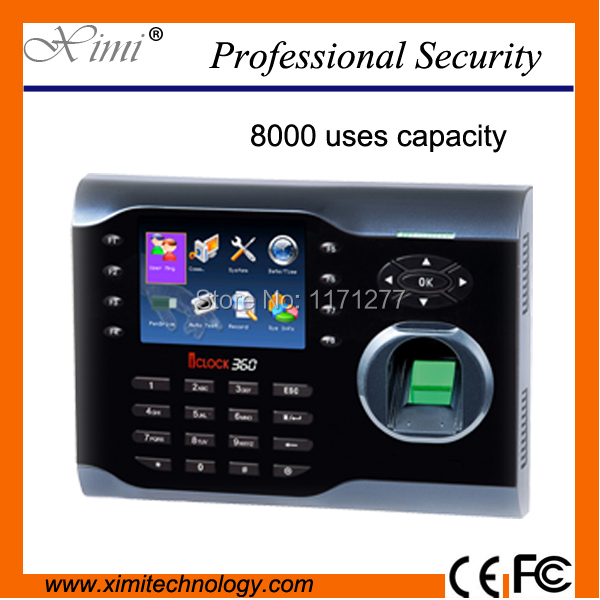 Good quality ICLOCK360 fingerprint time attendance machine Linux operating system TCP/IP biometric time attendance k14 zk biometric fingerprint time attendance system with tcp ip rfid card fingerprint time recorder time clock free shipping