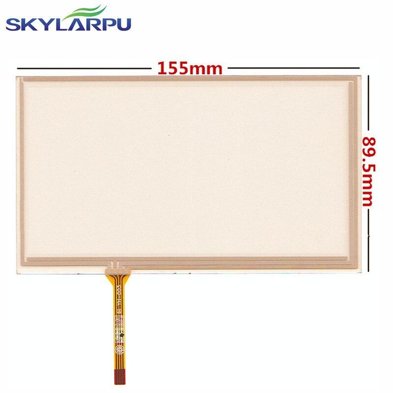 Skylarpu 6.5 pouce 155mm * 89mm Écran Tactile pour AT065TN14 20000938-31 DVD de Voiture écran Tactile de navigation digitizer panneaux de remplacement