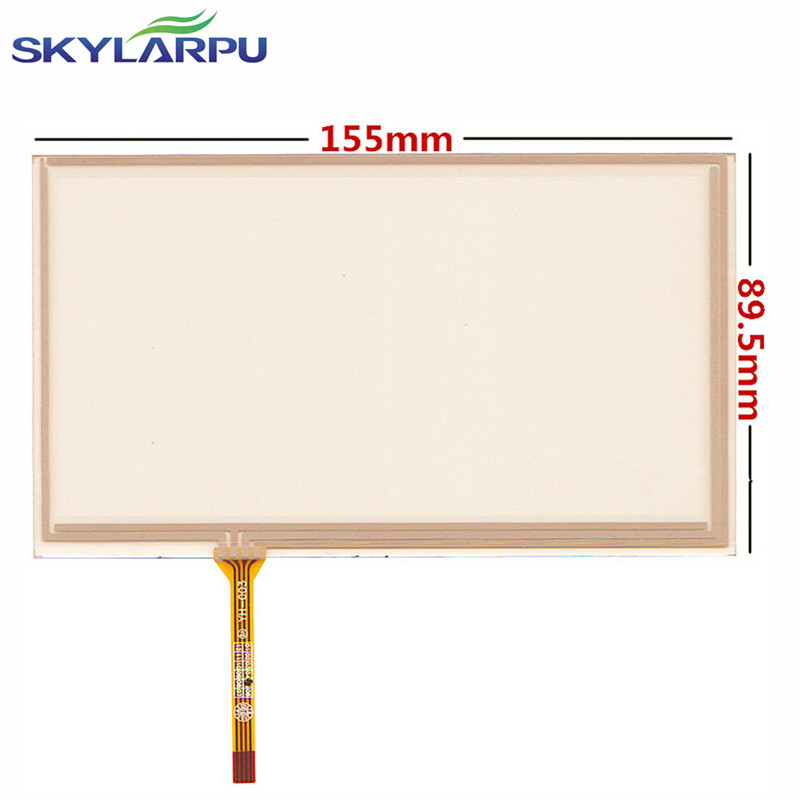 все цены на skylarpu 6.5 inch 155mm*89mm Touch Screen for AT065TN14 20000938-31 Car DVD navigation Touch screen digitizer panels replacement онлайн