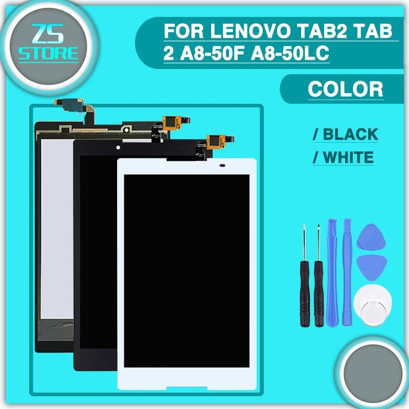 Nouveau 8 ''pouces Pour Lenovo Tab 2 A8-50L A8-50LC A8-50 A8-50F LCD Affichage et Écran Tactile Digitizer Assemblée avec outil