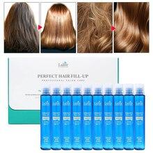 Лучшая корейская косметика LADOR идеальная заправка волос протеиновые ампулы для волос Кератиновое лечение волос против выпадения волос продукт 13 мл