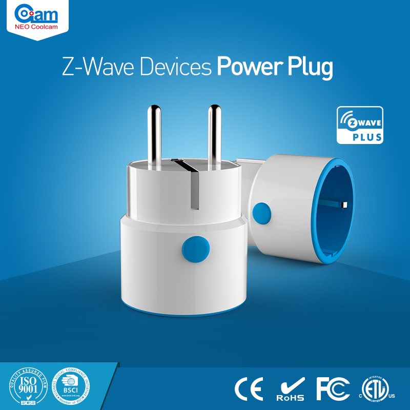 NEO Coolcam Z-Wave EU Power Plug Sensor Compatible With Z-wave 300 Series And 500 Series Home Automation