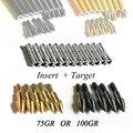 12 шт. стрела цель точка + 12 шт. вставка для ID6.2 стрела вала стрельба из лука охота