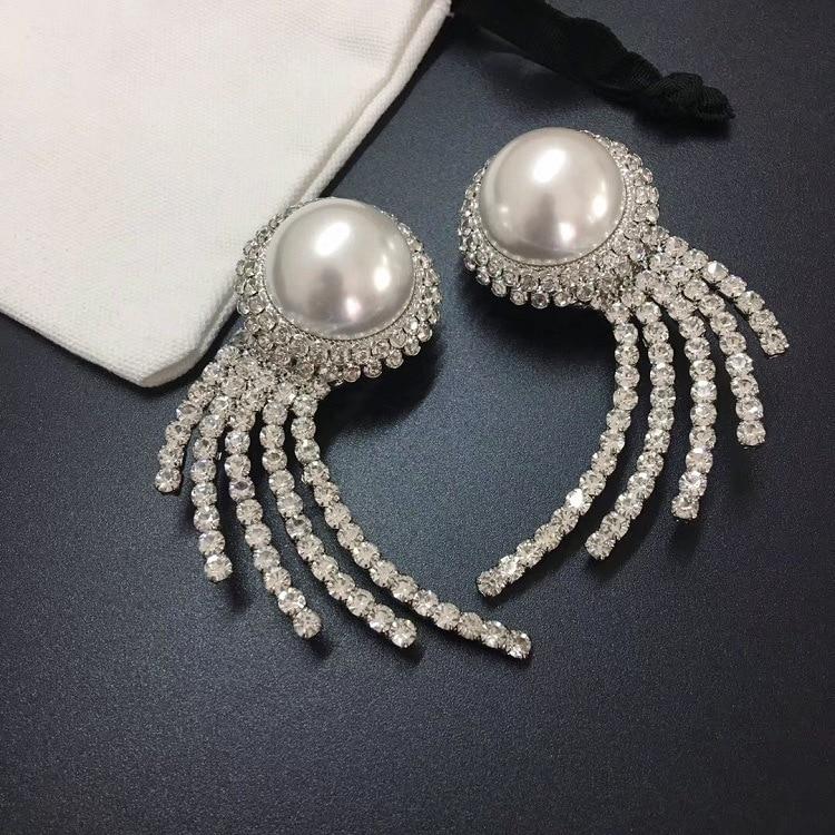 Nouveau clip d'oreille rond perle pleine de forage Finch perceuse boucles d'oreilles éclater-in Boucles d'oreilles pendantes from Bijoux et Accessoires    1