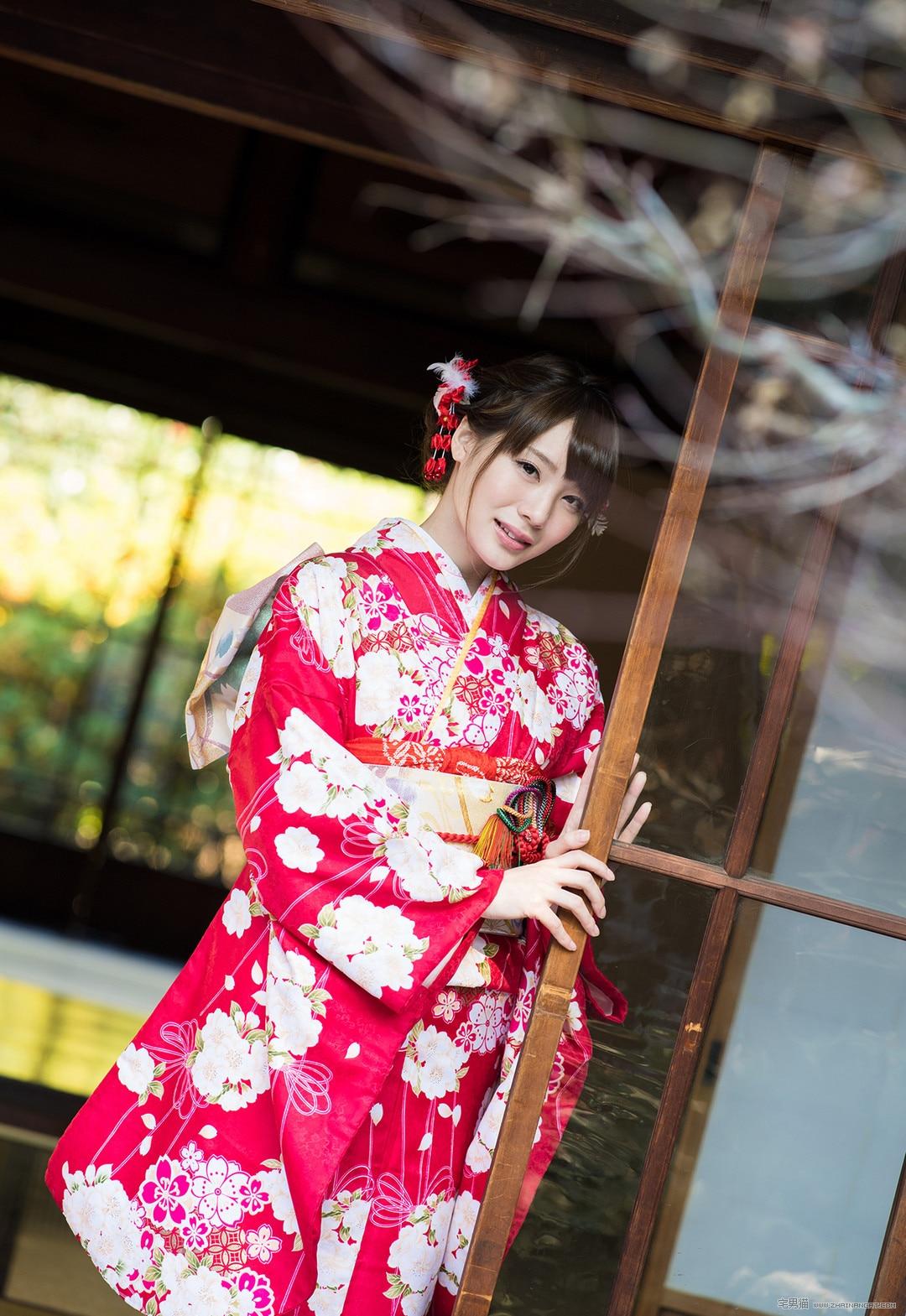 铃村爱里(铃村あいり)和服系列写真(30P)
