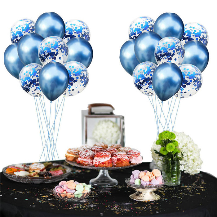 Cartoon Hat 10Pcs 12 Inch Confetti Balloon Rose Gold Champagne Holiday Parties Sequins Wedding Party Birthday  Cartoon Hat