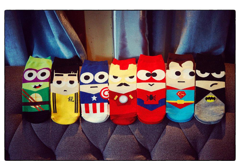 Men's Short Novelty Sokken Harajuku Socks