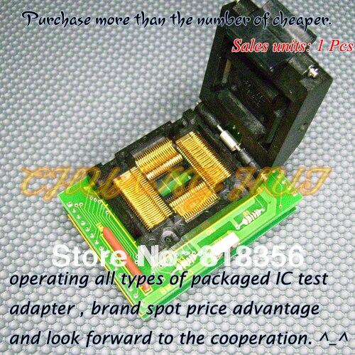BM11150 Programmer Adapter PM-RTC005-366A IC51-1004-814-1 QFP100 LQFP100 TQFP100 Adapter/IC SOCKET/IC Test Socket