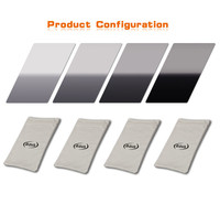 Photographic Accessories Camers ND Filter BAVA 100mm Series ND Soft Grad Filter Kit ND2 ND4 ND8