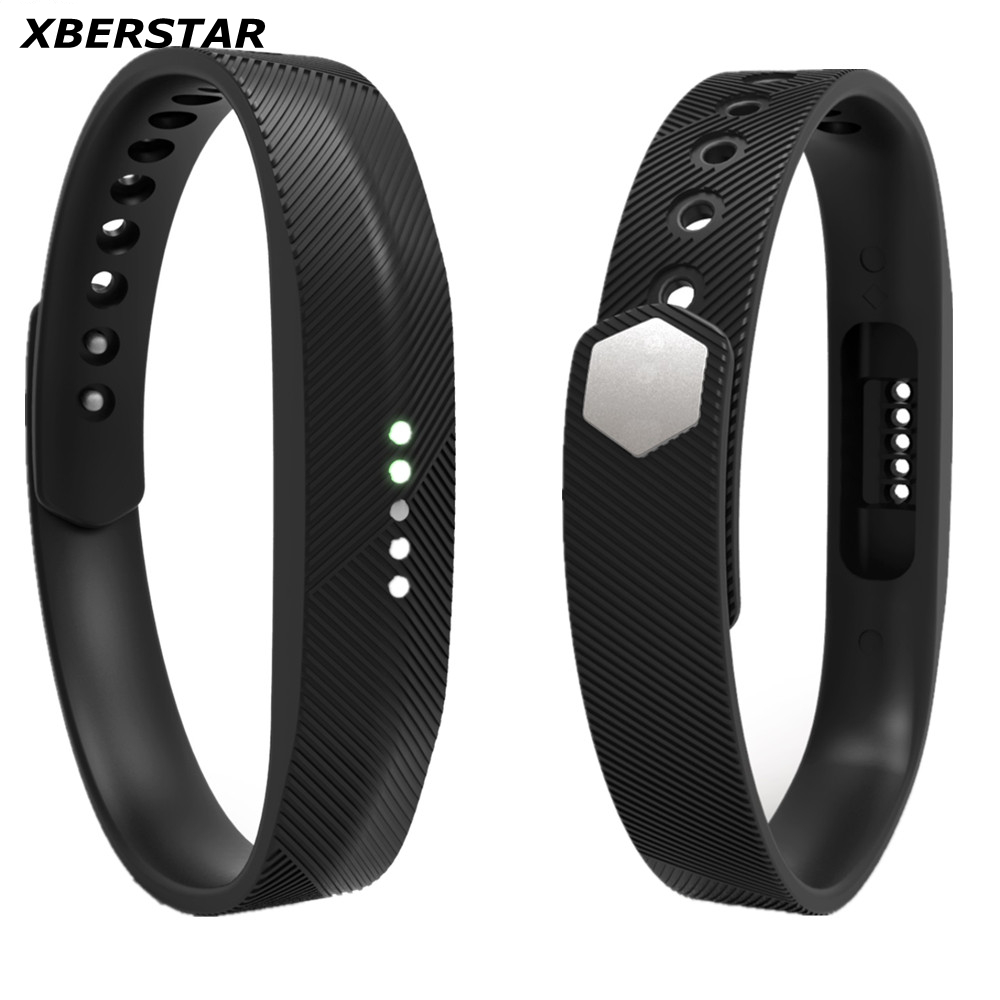 Soft Sport Silicone Wrist Strap Watchband For Fitbit Flex 2 All Day Activity Smart Track Fitness