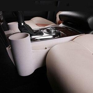Image 5 - שחור בז רכב פנים הילוך מרכזית אחסון ארגונית כרטיס טלפון ל ניסן סיירת Y62 Armada