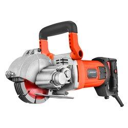 HD-1007 wielofunkcyjny ściany frezarka do rowków maszyna do cięcia ścian maszyna do cegieł i granitów z marmuru