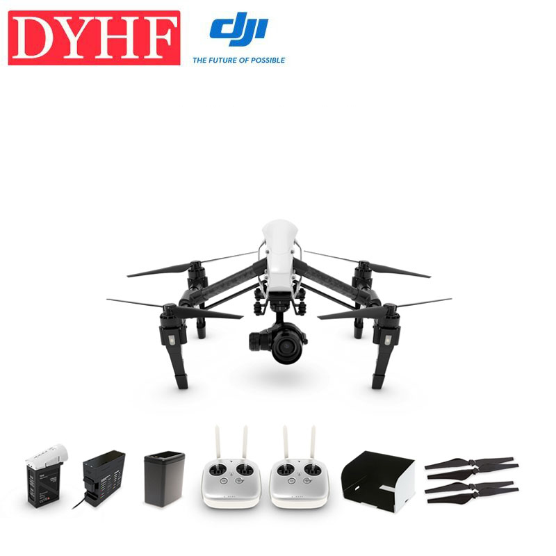 2016 New Year Kit !DJI Helicopter INSPIRE 1 PRO Edition with evolutionary camera ZENMUSE X5 & 3-Axis Gimbal