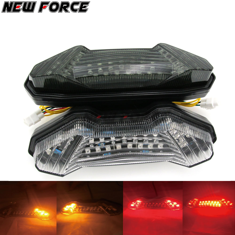 For YAMAHA MT09 MT10 FZ09 Tracer 2014-2016 MT 10 MT 09 2017 accessories Motorcycle Brake Turn Signal Tail Light Integrated Led