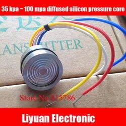 Silício difusa core / transmissor de pressão / piezo de núcleo 35 kpa ~ 100 mpa de silício difusa núcleo
