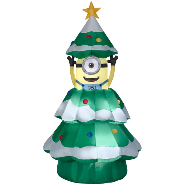 Hot sale outdoor inflatable christmas tree model inflatable christmas gift