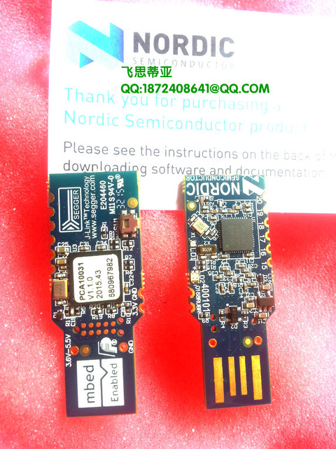 US $68 0 |nRF51 Dongle Bluetooth module Dev USB Dongle nRF51822 / nRF51422  Nordic pca10031 NRF51 DK-in Electronics Stocks from Electronic Components &