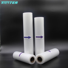 TOENTER 20/20/25/28*500CM 4rolls food grade Transpanrent sealer vacuum packing bags for