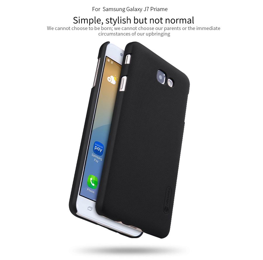 promo code b342d 82c59 For Samsung Galaxy J7 Prime carry top case Nillkin Frosted Shield ...