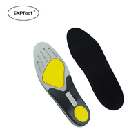 High Quality Silicone GEL PU Sport Insoles Sweat Absorption Pads Running Sport Shoe Inserts Breathable Insoles