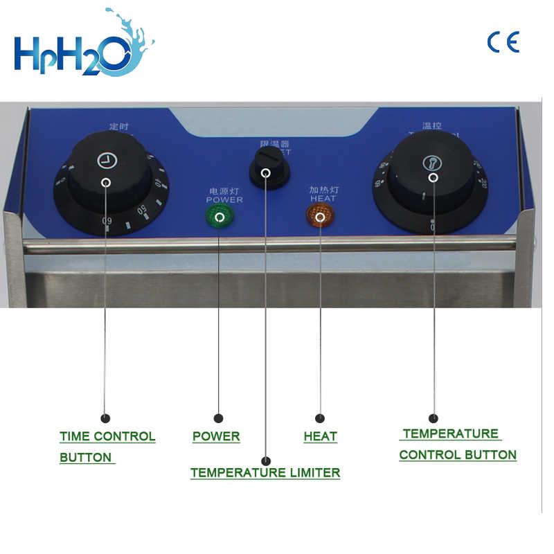 Frytkownica elektryczna elektryczna maszyna do smażenia frytki smażyć ekspres do kawy ze stali nierdzewnej gospodarstwa domowego smażalnica do kurczaków 2500 W z zegarem
