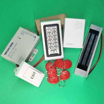 Waterproof Access Control System Keypad Rfid Access Controller with 600LBS Electric Magnetic Lock Door Access Control System