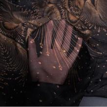 3colour Tulle chiffon transparent shawl silk fabric dress tweed scrapbook printing Party satin tissu african Scarf A216
