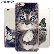 купить M202 Cute Cat Soft TPU Silicone Case Cover For Apple iPhone 11 Pro X XR XS Max 8 7 6 6S Plus 5 5S SE 5C 4 4S по цене 117.89 рублей