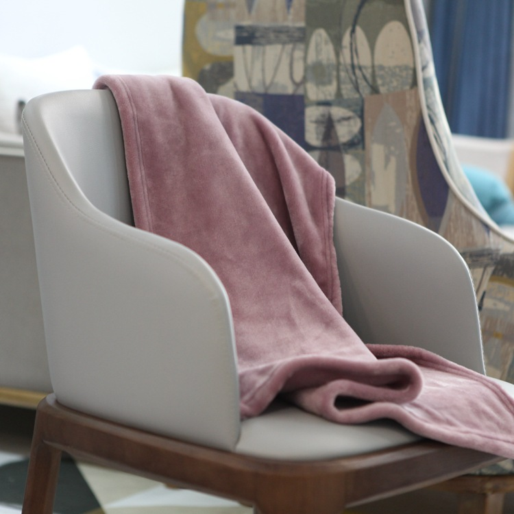 Bedding Home & Garden Coral Fleece Fabric Sofa Blanket,home&office Rest Blanket,student Leg Cover.travel Boarding Blanket,70x100