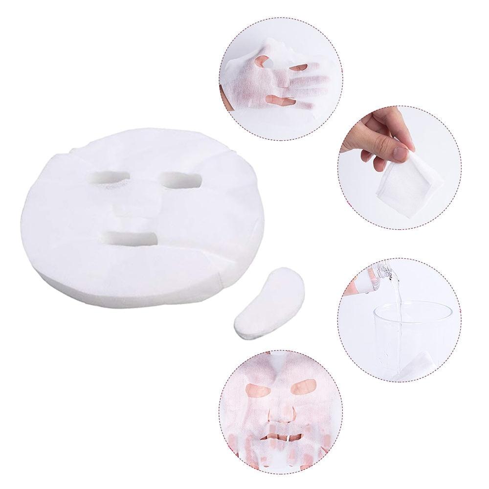 100pcs Disposable Facial Mask Pure Cotton Paper Facemask Sheet Ultra-thin DIY Cosmetic Face Skin Care Mask Beauty Tools100pcs Disposable Facial Mask Pure Cotton Paper Facemask Sheet Ultra-thin DIY Cosmetic Face Skin Care Mask Beauty Tools