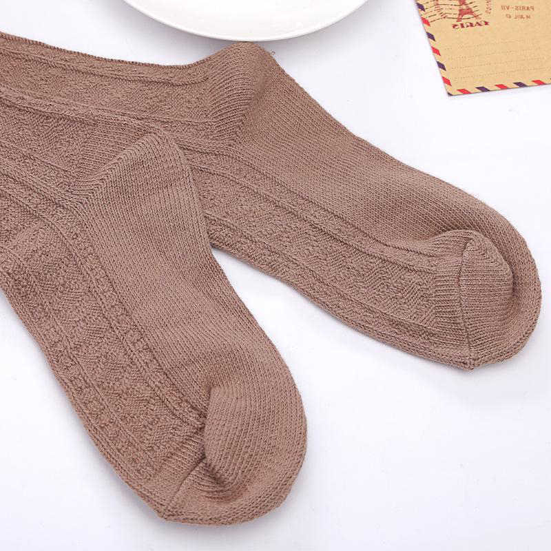 b3975faf371 ... thickness women high quality needle cotton knee high long high tube  sexy thigh stockings pantyhose hosiery