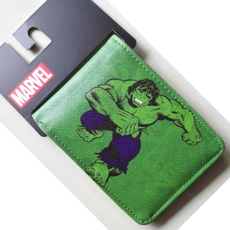 Marvel Comics Hulk Wallet Giant Green Man PU Leather Dollar Price Purse Carteira Masculina Cartoon Anime Bags for Men 4.5 inch archie giant comics 75th anniversary book