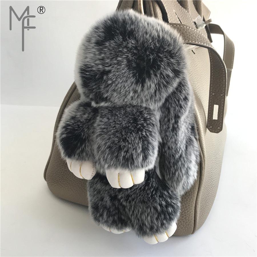UK Soft REAL Fur Ball Keyring Phone Handbag Car Pendant Pompom 3 FOR 2 Easter