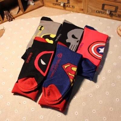 Hot Sales Fashion Cotton Mans Socks Slippers Comfortable Cute Funny Cartoon Socks Men Socks slipper High Quality