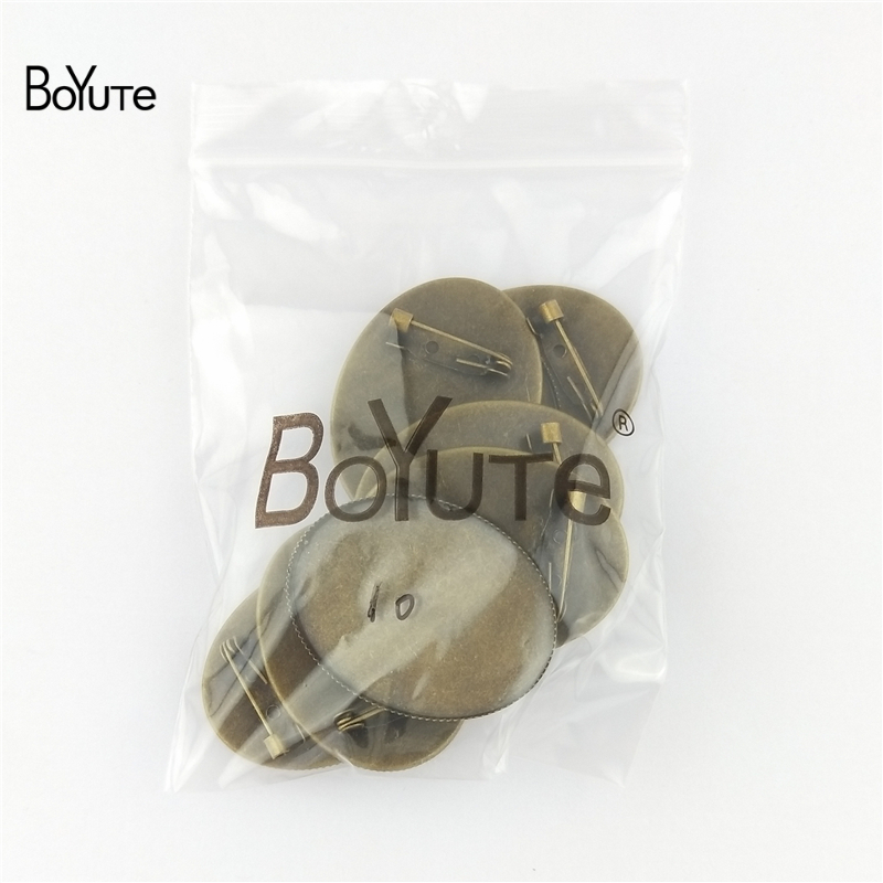 3d708338c BoYuTe 10Pcs Oval 30*40MM Cabochon Base Blank Tray Settings Oval Antique  Bronze Plated Vintage Brooch Blanks-in Jewelry Findings & Components from  Jewelry ...