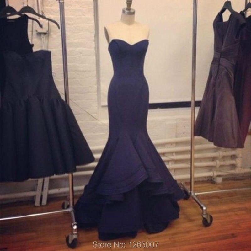 Plain evening dress