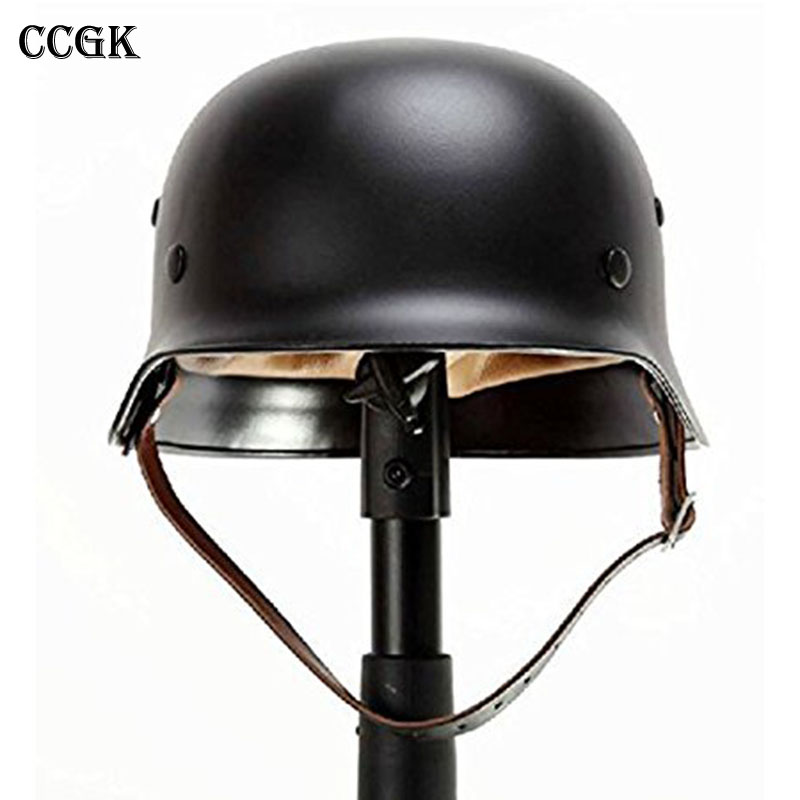 CCGK WW2 German M35 Steel Helmet / WW II M35 German helmet/ Safety Helmet High strength steel/ World War 2 HelmetCCGK WW2 German M35 Steel Helmet / WW II M35 German helmet/ Safety Helmet High strength steel/ World War 2 Helmet