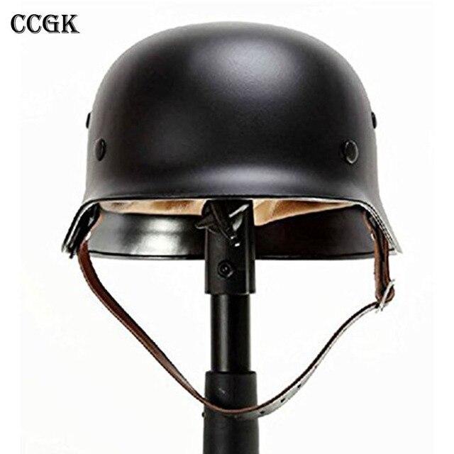 CCGK WW2 German M35 Steel Helmet WW II Safety High