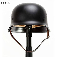 CCGK WW2 German M35 Steel Helmet / WW II M35 German helmet/ Safety Helmet High strength steel/ World War 2 Helmet