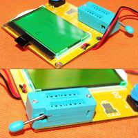 Hohe qualität 9V LCD screen ESR-T4 Mega328 Digitale Transistor Tester Diode Triode Kapazität ESR Meter MOS/PNP/ NPN LCR 12864