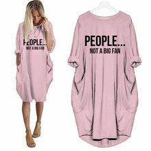 T-Shirt épaules dénudées pour femmes, humoristique, imprimé, pas un grand fan, hauts la mode, 2019