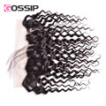Peruvian Lace Frontal 13x4 Water Wave Frontal Closure Full Lace Front Closure Human Hair Peruvian Virgin Hair Water Wave Frontal