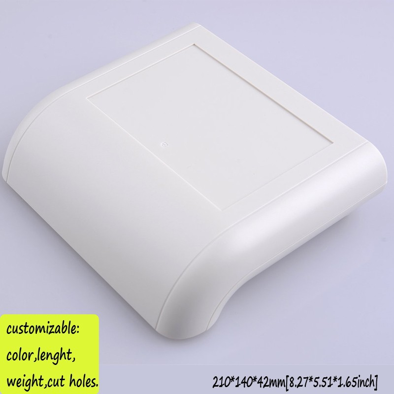 4 pcs/lot 210*140*42mm Network enclosure housing diy plastic junction box electronic project plastic case abs network router box