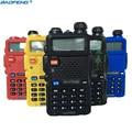 Baofeng UV-5R de banda dual walkie talkie de radio dual display 136-174/400-520 mHZ 5 W radio de dos vías con free auricular BaoFeng UV 5R