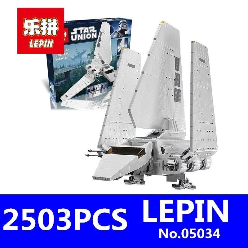 Imperial Shuttle Building Blocks Bricks LEPIN 05034 2503Pcs Star War Series Assembled Educational Toys for Children Gift10212