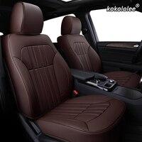 kokololee Custom Leather car seat cover For Geely Emgrand EC7 Jingang Yuanjing GX7 GC7 GX2 UFO SC3 SC5 SC6 SX7 car seats protect