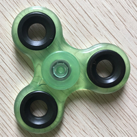 White Black Finger Spinner Fidget Plastic EDC Hand Spinner For Autism And ADHD Anxiety Stress Relief