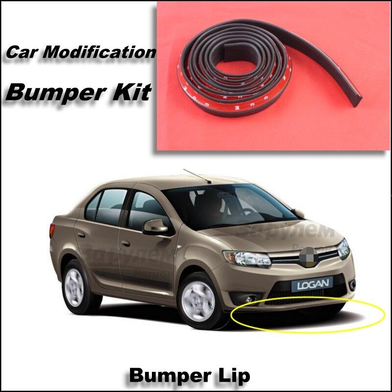Bumper Lip For Renault Logan / Tondar /Symbol Front