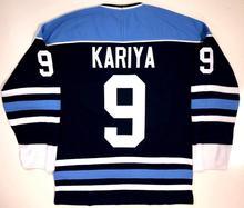 MAINE BLACK BEARS  9 PAUL KARIYA 33 JIMMY HOWARD Hockey Jersey Embroidery Stitched  Customize any · 4 Colors Available c18182d7f