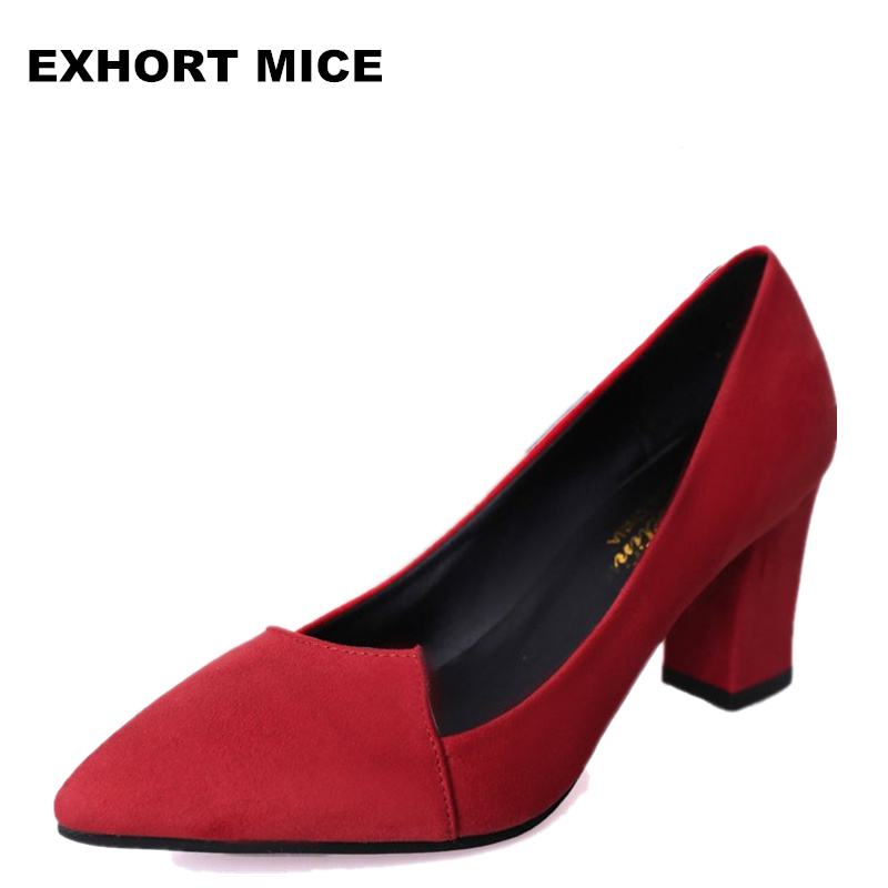 2019 Women Pumps Ankle Strap Thick Heel Women Shoes Square Toe Mid Heels Dress Work Comfortable Ladies Shoes Rough with 7 cm #12019 Women Pumps Ankle Strap Thick Heel Women Shoes Square Toe Mid Heels Dress Work Comfortable Ladies Shoes Rough with 7 cm #1